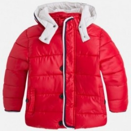 Mayoral 4428-70 Chlapecká bunda s ořezáváním červená barva