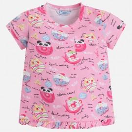 Mayoral 3038-96 Dívčí tričko barva magenta