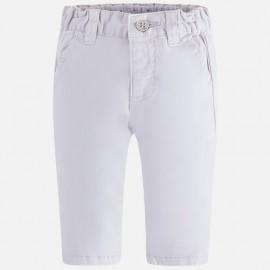 Mayoral 595-60 Kalhoty pro kluk serge Bílá barva
