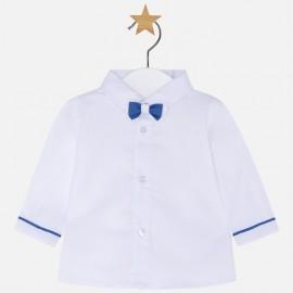 Mayoral 1112-40 Tričko pro chlapce s motýlkou Bílá barva