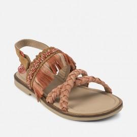 Mayoral 45891-43 sandály dívčí Barva korálů