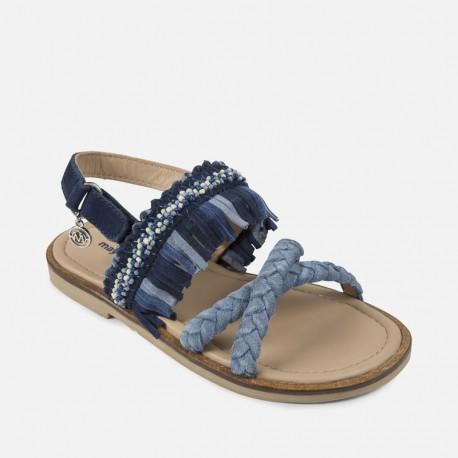 Mayoral 45891-44 sandály dívčí barva námořnictva