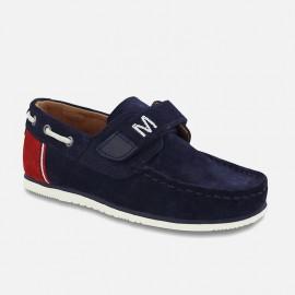 Mayoral 45905-39 Chlapci boty mokasíny plachtění Barva granátu
