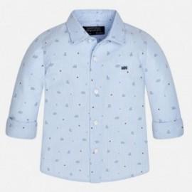 Mayoral 2149-61 Chlapčenská košile Modrá barva