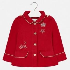 Mayoral 4447-24 Dívčí bunda přechod červená barva
