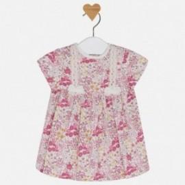 Mayoral 2849-57 Dívčí šaty s potiskem Barva malin