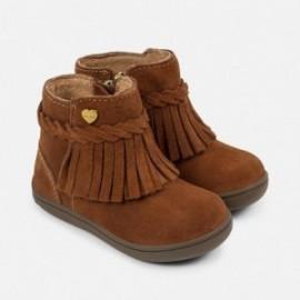 Mayoral 42720-64 Dívčí boty, přechodové střapce mandlová barva