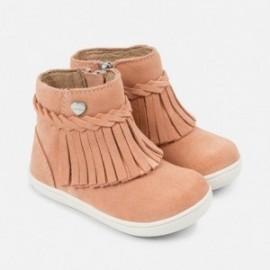 Mayoral 42720-63 Dívčí boty přechodné střapce růžové barvy