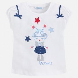 Mayoral 3020-35 Dívčí tričko barva granát