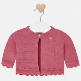 Mayoral 312-84 Dívčí svetr Růžová barva