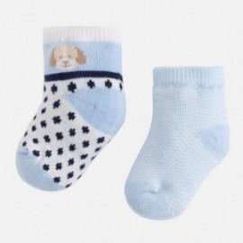 Mayoral 9600-50 Sada 2 párů ponožek barva Sky blue