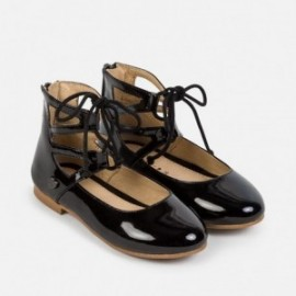 Mayoral 44709-38 Dívčí boty baletních čerpadel barva černá