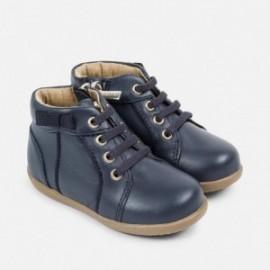 Mayoral 42714-46 Chlapci boty kůže Barva granátu