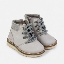 Mayoral 42722-69 Chlapci boty kůže horský Světle šedá barva