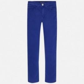 Mayoral 51-61 Chlapčenské kalhoty s kapsami Sapphire barva