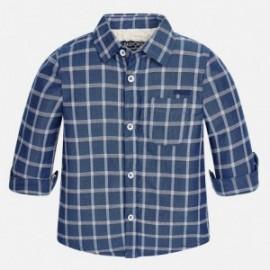Mayoral 2135-4 Chlapčenská košile s podšívkou barva námořnictva