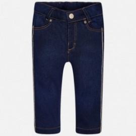 Mayoral 2579-5 Dívčí kalhoty džíny barva námořnictva