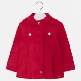 Mayoral 3432-92 kabát dívčí barva červená