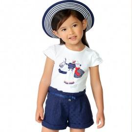 Mayoral 3002-22 Dívčí tričko granát