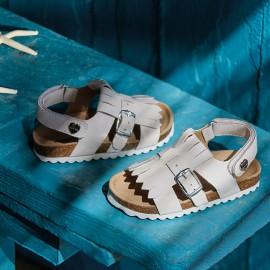 Mayoral 41870-90 sandály dívčí barva bílá
