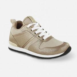 Mayoral 44759-52 Dívčí boty adidas pískové barvy