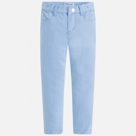 Mayoral 3506-20 Dívčí kalhoty dlouho barva modrý