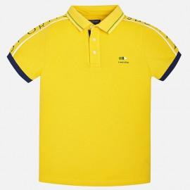 Mayoral 6136-28 Polo chlapci krátký rukáv barva žlutý