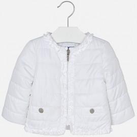Mayoral 1436-63 Bunda pro dívky větrovka bílá barva
