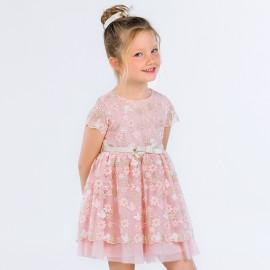 Mayoral 3918-22 Dívčí šaty barva růžový