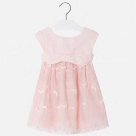 Mayoral 3916-32 Dívčí šaty tyl barva růžový