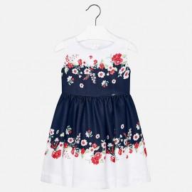 Mayoral 3974-34 Dívčí šaty barva granát