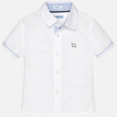 Mayoral 1154-28 košile chlapci bílé barvy