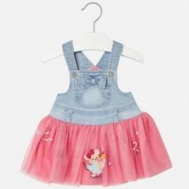 Mayoral 1904-74 Dívka zahradník sukně barva modrý/růžová
