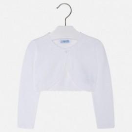 Mayoral 320-39 Dívčí svetr barva bílá
