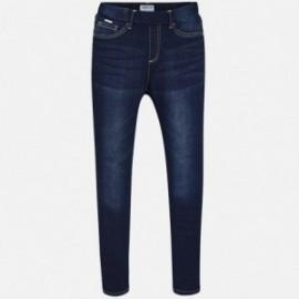 Mayoral 554-91 kalhoty dívčí tmavé džínové barvy