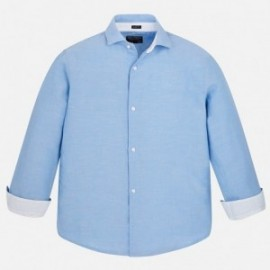 Mayoral 872-63 košile chlapci modrá barva
