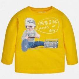 Mayoral 1068-41 tričko chlapci barva žlutě