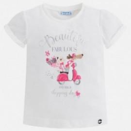 Mayoral 3008-95 Dívčí košili barva bílá
