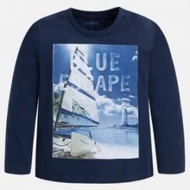 Mayoral 3097-18 tričko chlapci barva granát
