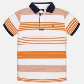 Mayoral 6120-71 Polo chlapci oranžové barvy