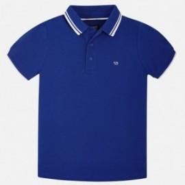Mayoral 6134-63 Polo chlapci barva modře