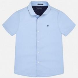Mayoral 6144-93 košile chlapci modrá barva