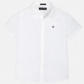 Mayoral 6144-94 košile chlapci bílé barvy
