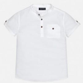 Mayoral 6146-23 košile chlapci barva bílou