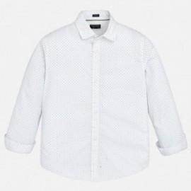 Mayoral 6154-67 košile chlapci bílé barvy