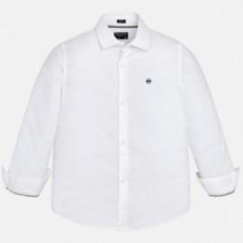 Mayoral 6160-18 košile chlapci bílé barvy