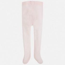 Mayoral 10395-42 Dívčí punčochy, růžové barvy