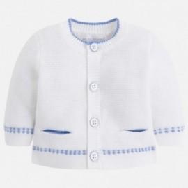 Mayoral 1300-10 svetr chlapecký bílé barvy