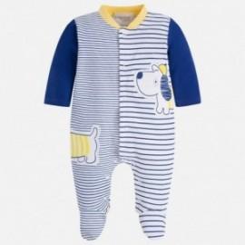 Mayoral 1730-77 pyžama chlapci barva granát / žlutě