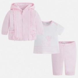 Mayoral 1808-11 track-suit z tričko dívčí růžová barva